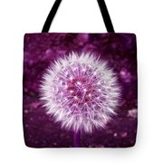 Purple Dandy Tote Bag