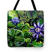 Purple Dawn Tote Bag