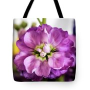 Purple Delphinium Tote Bag