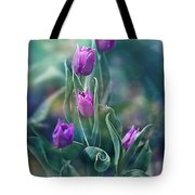Purple Dignity Tote Bag