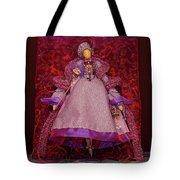 Purple Doll Tote Bag