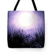 Purple Eclipse Tote Bag