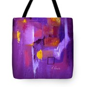Purple Enclosure Tote Bag