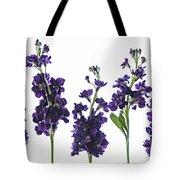 Purple Floral 1 Tote Bag
