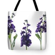 Purple Floral 2 Tote Bag