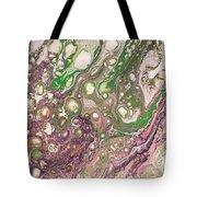 Purple Flow Tote Bag