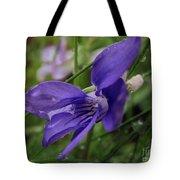Purple Flower 2 Tote Bag