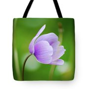 Purple Flower Looking Right Side Tote Bag