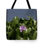Purple Flower On Bayou Tote Bag