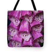 Purple Foxgloves Tote Bag by Patricia Strand