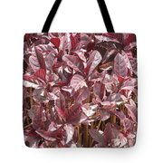 Purple Foliage Tote Bag