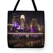 Purple For Prince Tote Bag