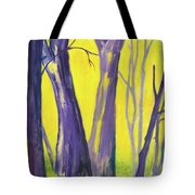 Purple Forest Tote Bag