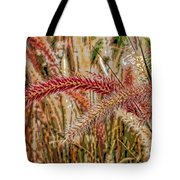 Purple Fountain Grass Abstract By H H Photography Of Florida Tote Bag