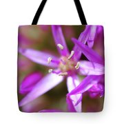 Purple Fragrance Tote Bag