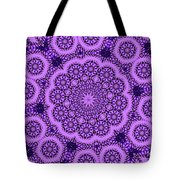 Purple Geek Kaleidoscope Five Tote Bag
