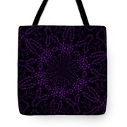 Purple Geek Kaleidoscope Four Tote Bag