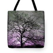 Purple Haze Across The Sky Tote Bag