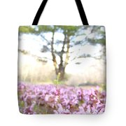 Purple Heal-all Tote Bag