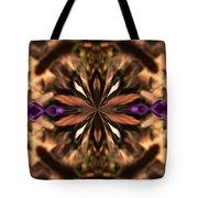 Purple Heart Design Tote Bag