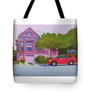 Purple House, Alameda Tote Bag