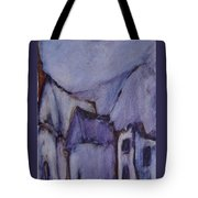 Purple Hut Tote Bag