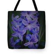 Purple Hyacinths - 2015 D Tote Bag