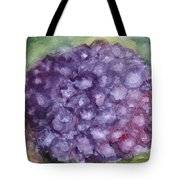 Purple Hydrangea Tote Bag