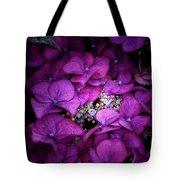 Purple Hydrangeas Tote Bag