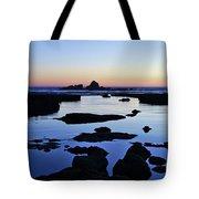 Purple In Gale Beach. Algarve Tote Bag