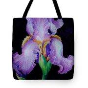 Purple Iris II Tote Bag