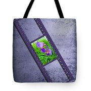Purple Iris Passion Tote Bag