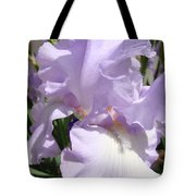 Purple Irises Artwork Lavender Iris Flowers 13 Botanical Floral Art Baslee Troutman Tote Bag