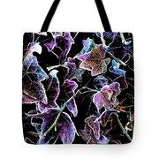 Purple Ivy Tote Bag