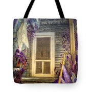Purple Key West Tote Bag
