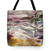 Purple Land Tote Bag
