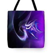 Purple Love Tote Bag