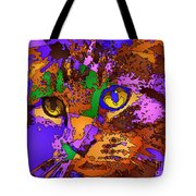Purple Love. Pet Series Tote Bag