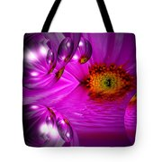 Purple Magic Tote Bag