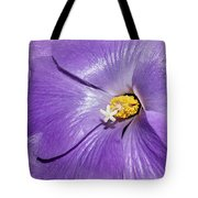 Purple Mallow Mist Tote Bag