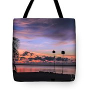 Purple Martin Sky Tote Bag