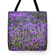 Purple Meadow 3 Tote Bag
