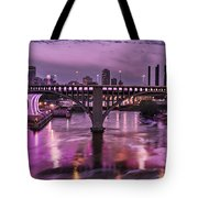 Purple Minneapolis For Prince Tote Bag