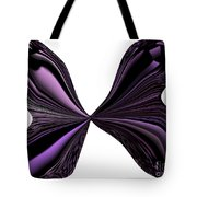 Purple Monarch Butterfly Abstract Tote Bag