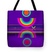 Purple Moon Tote Bag