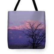 Purple Mountain Majesty Tote Bag