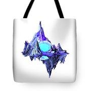 Purple Mountain Shapes - 46 Tote Bag