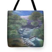 Purple Mountains Tote Bag