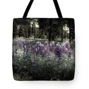 Purple On The Forest Floor Tote Bag