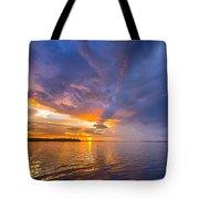 Purple Orange Dream Sunset Tote Bag